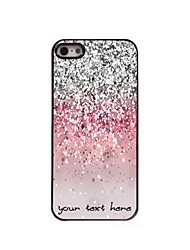 Personalized Phone Case - Shimmering Powder Design Metal Case for iPhone 5/5S