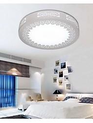plafonnier en fer forgé, allée plafond blanc 1 lumière le style contractée contemporain, acrylique de fer à l'extérieur