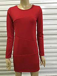 co co autour du cou moulante couleur unie robe de zhang femmes