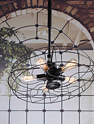 Industrial 5-light Pendant Light