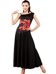 Ballroom Dancewear Women's Qmilch Ballroom Modern Dance Dress (More Colors)