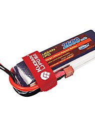 Kudian RC Battery 35C 2600mAh T Plug 4S