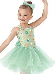 Performance Dancewear Children's Sequin Ballet Tutu Dress Kids Dance Costumes