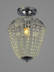 LEHRTE - Lampe de Plafond Cristal - 2 slots à ampoule