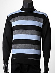 Men's Winter Stripe Warm Jumpers