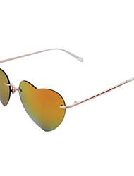 Sunglasses Women's Classic / Retro/Vintage / Sports Round Gold Sunglasses Rimless
