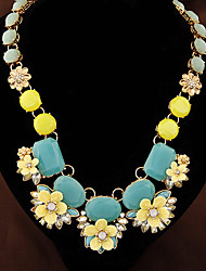 Colorful day  Women's European and American fashion necklace-0526029