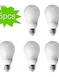 5-pack h + lux ™ cfl a65 e27 23W 1300LM cri>80 2700K bianco caldo lampadina del globo (AC220-240V) = 150w incandescenza