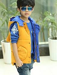 Boy's Warm Quilted Vest