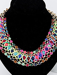 Colorful day  Women's European and American fashion necklace-0526012