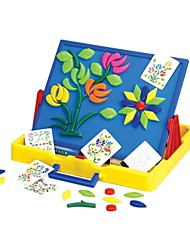 Kids Opposed Double Face Magic Cubes Puzzle Board For Drawing