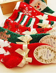 Fashion and Cute Christmas Series Socks(Random Color)