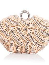 Women's Pearl Unique Shape Handbag
