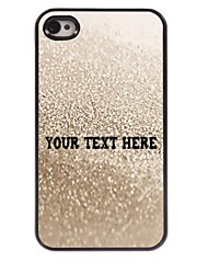 Personalized Phone Case - Grey Water Design Metal Case for iPhone 4/4S