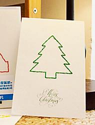 lettera di amanti cartolina di Natale
