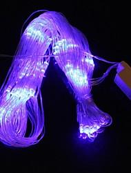 Netz 1.5m * 1.5m 9.6w Weihnachten Flash-96-LED-Blaulicht-Streifenlicht-Lampe (eu Stecker, AC 110-220V)