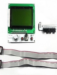Reprap Smart Controller LCD12864 Version (LED Turn On Control) 3D Printer Accessories