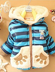 Boy's Cotton Jacket & Coat , Winter Long Sleeve
