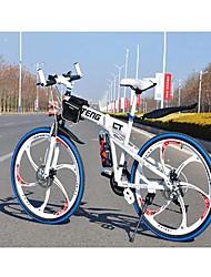 CT 24 Speeds Hummer Bicicleta 17 in Mountain Bike Disc Brakes Folding Bicycle