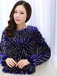 Fur Jacket Women's Fashion Slim Fur Jacket