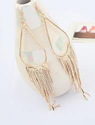 Miss Women's Fashion Temperament Elegance Statement Gem All Match Earrings