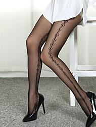Damenmode sexy Diamant-Muster Pantyhose
