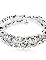 Crystal Alloy Bracelet
