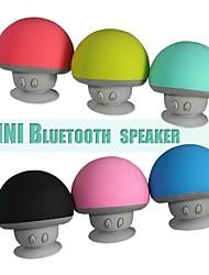мини-гриб аккумуляторная Bluetooth динамик с присоской (3,5 мм / 5В)