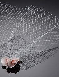 One Tier Wedding/Special Occasion Blusher Veil