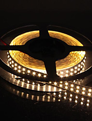 dubbele rij 600x3528 SMD 72W 6000lm warm wit licht led strip licht (5-meter / DC 12V)