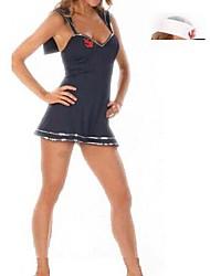 capitão marinheiro da marinha curvilíneo uniforme one size