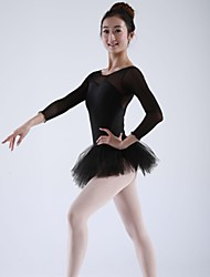 Ballet Dancewear Women's Spandex/Chiffon Ballet Dance Tutu Dress(More Colors)