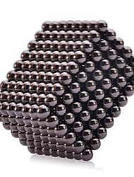 Magnet Toys 216 5mm Magnet Toys Executive Toys Puzzle Cube DIY Toys Magnetic Balls Black Education Toys For Gift