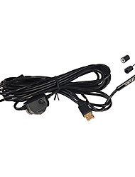 5m7mm Inspection Camera Borescope USB Tube Snake Scope with 6 LED Waterproof Endoscope Supereyes N015-5