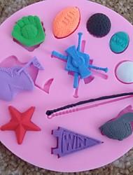 Baseball Cap Fondant Cake Chocolate Silicone Mold Cupcake Cake Decoration Tools,L10cm*W10cm*H1cm