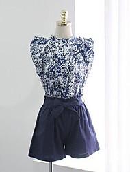 terno da moda verão feminina (camisa&calças)