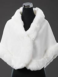 Fur Wraps Large Thick Fur Edge Winter Weddings Faux Fur Wrap Shawl Bridal Bolero Bolero Shrug