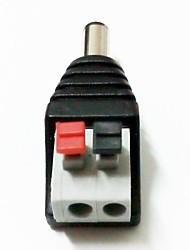 2.1mm Male Jack Plug DC Power Adapter 2pcs/lot
