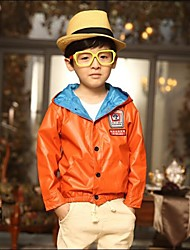 эмблема длинный рукав куртки мальчика