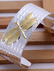 Goud/Zilver Dames Cuff armband Armbanden