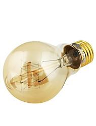 Lâmpada Redonda LED Decorativa E26/E27 40W 400 LM 3000 K Branco Quente AC 220-240 / AC 110-130 V