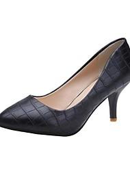 zapatos de las mujeres en punta del dedo del pie stiletto talón bombean los zapatos más colores disponibles