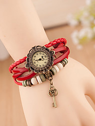 Wanbao Women's Vintage Weave Bracelet Watch