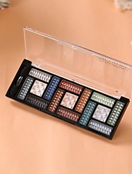 15 Colors Professional Dazzling Matte&Shimmer 3in1 Eyeshadow Makeup Cosmetic Palette