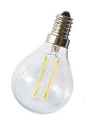 E14 Lampadine LED a incandescenza G45 2 COB 220 lm Bianco caldo Decorativo AC 220-240 V