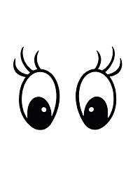 série bricolage mickey diagramme de l'œil autocollant conception pvc de décoration pour voitures et autres