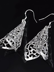Drop Earrings - aus Silber - für Damen