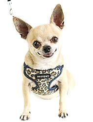 Dog Harnesses Yellow Nylon