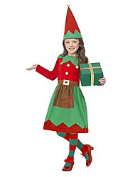 helper fille elfe Déguisements enfants costume noël