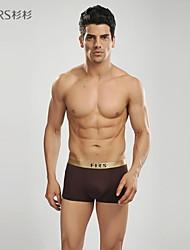 2014 homens marca abetos esporte modal de algodão casuais boxers roupa interior elástica